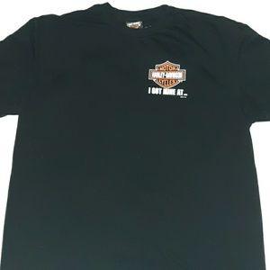 Harley Davidson T-Shirt Bayside Portsmouth VA XL
